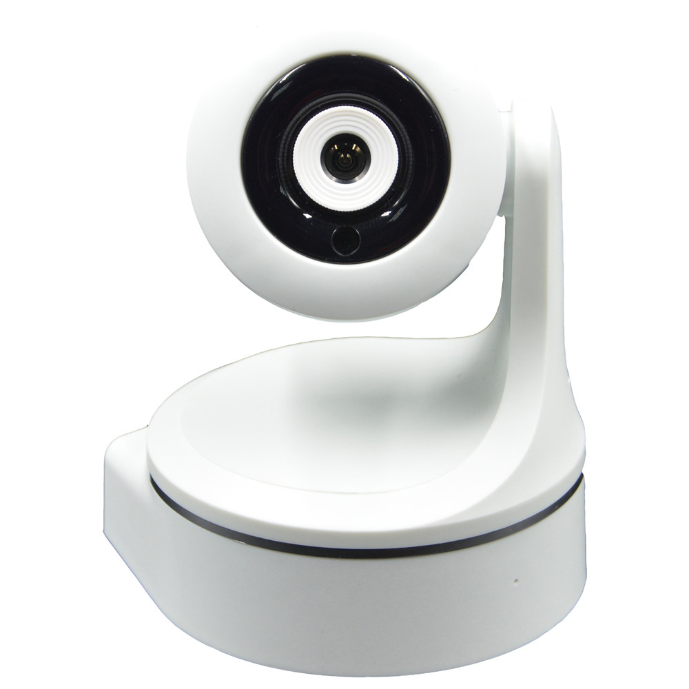 ISEC 720P PTZ WIFI Wireless IP Camera for Home Security (UK Plug) White