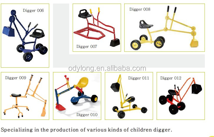 china wholesale hand mini post hole kids sandbox toy digger for garden