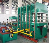 Hydraulic heating plate rubber sheet vulcanizing press machine