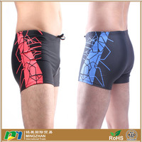 Summer Beach Printed Spandex Nylon Mens Swimwear
