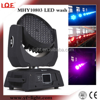 108*3w rgbw moving head lighting led