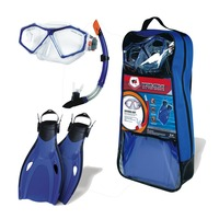 Tempered Glass Diving Mask , diving mask and snorkel sets