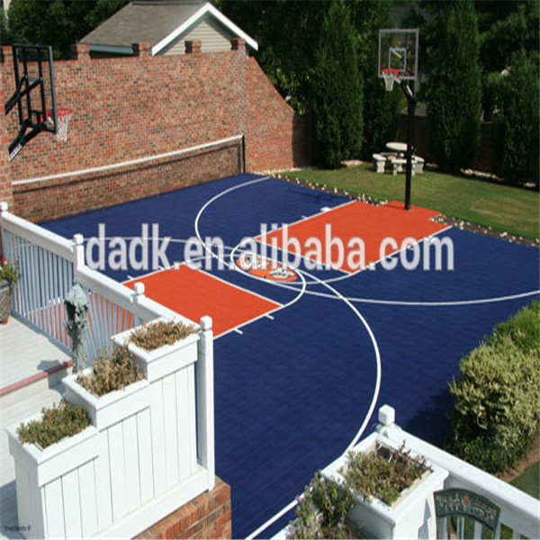 Temporary used volleyball court flooring/synthetic basketball court flooring