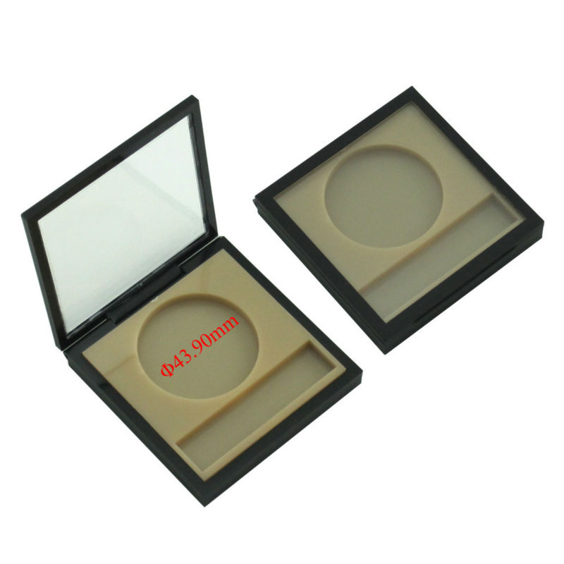 TM-ES6119 magnetic eye shadow box with transparent lid