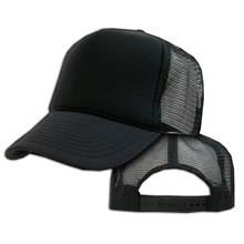 popular trucker hats blank trucker cap with strap back for men