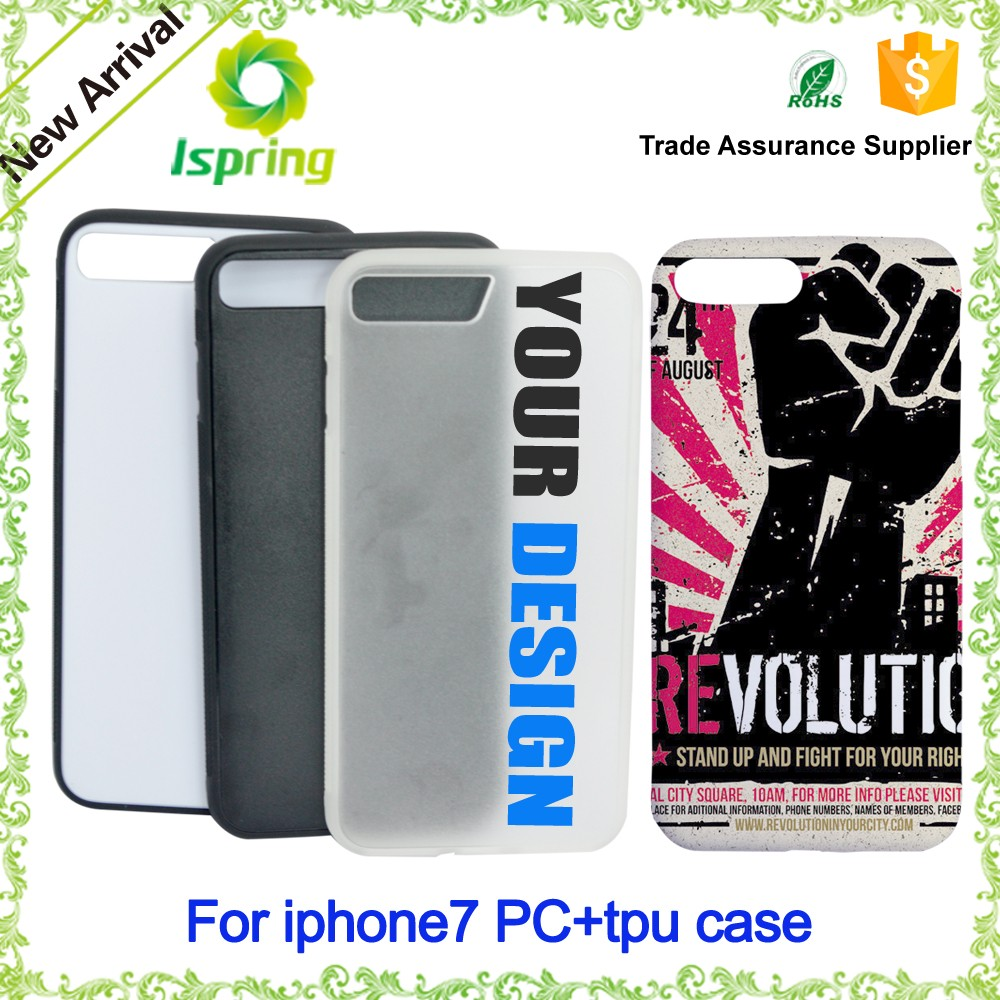 New for iphone 5 6 6s 7 custom design pc phone case with uv printing