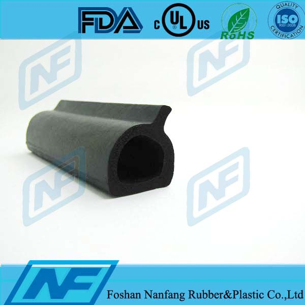 EPDM sponge seam sealing extruded rubber strip for construction