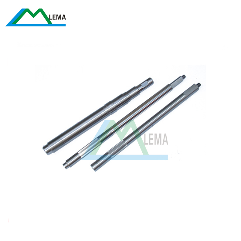 High precision non-standard stainless steel CNC machining electronic motor shaft