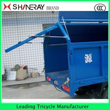 strong powered 3 wheel motorcycle car tipper garbage tricycle