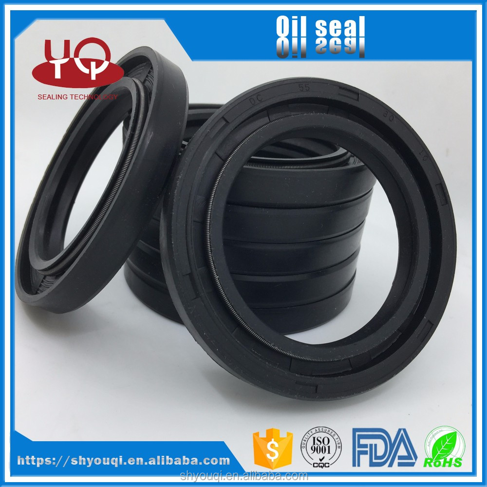 AutoNBR/Silicone /Viton DC national rubber skeleton oil seals hydraulic seal