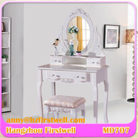 antique makeup vanity table with makeup mirror,vanity dressing table