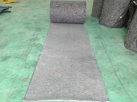 recycled nonwoven floor cushions/polyester flooring materials