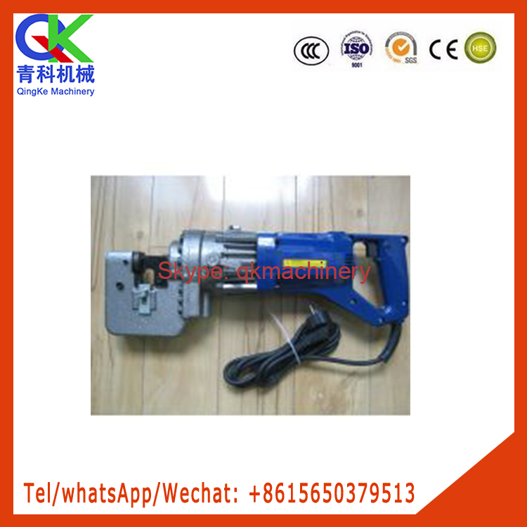 Hand held electric hydraulic punching machine drilling hole tools