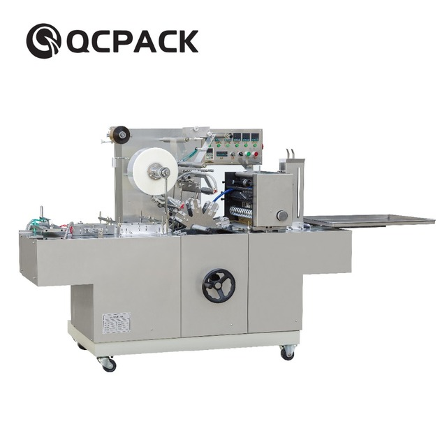 BTB-350 Factory Price Cellophane Automatic cam driving 3d box film wrapping machine
