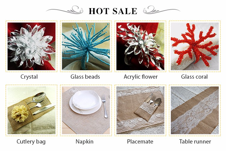 experienced designers made delicate cheap bulk bling napkin ring
