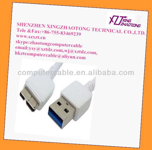 USB 3.0 Cable for Samsung Note3 N9500 Wholesale