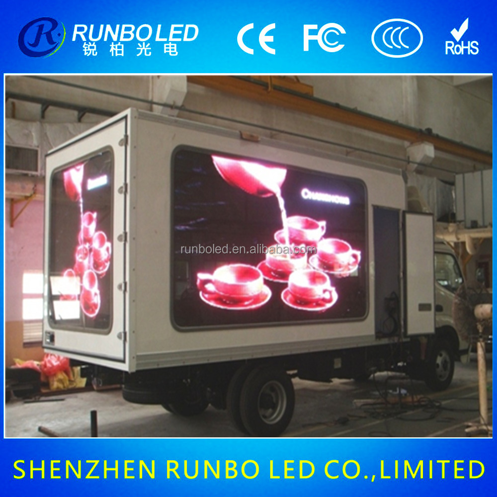 Top Quality trailer advertising led display