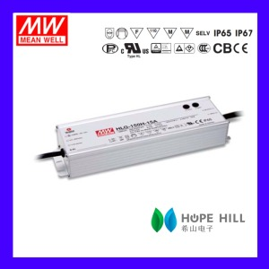 Original MEAN WELL HLG-150H-12 MODEL 12V Dimming waterproof Christmas light LED driver power supply