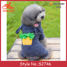 S2746 new design winter cute pets clothing cheap dog coats for sale