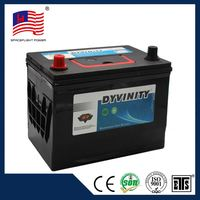 34-60 JIS standard big storage global car battery