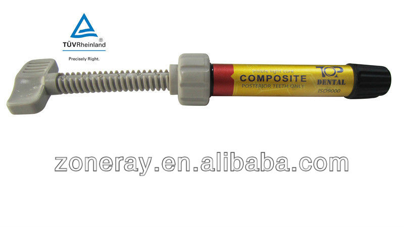 Visible Light Cure Composite Posterior Teeth Only Resin Dental Filling Material