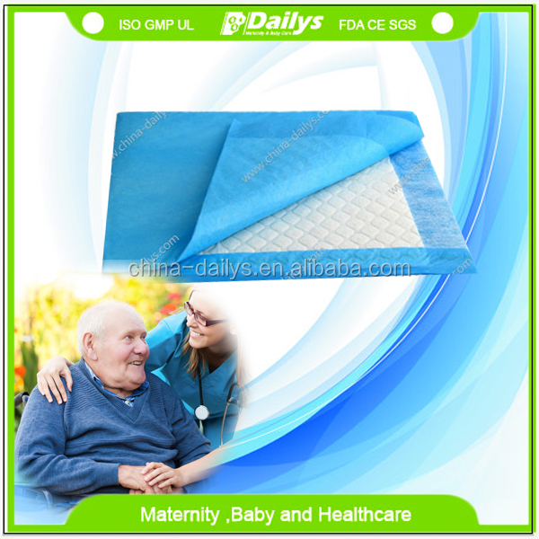 Hygiene Absorbency Underpad for rest home nursing house old people's home