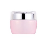 2016 hot sales luxury packaging empty glass cosmetics jar