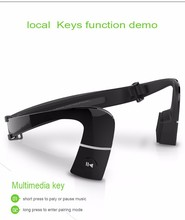 free your hands bone conduction bluetooth handset phone