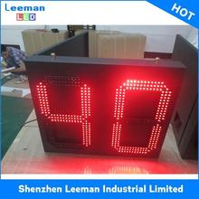 programmable countup countdown timer p10 led score board LED MESSAGE SIGN