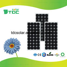 Good quality low price 100 watt solar panel with MC4 contector