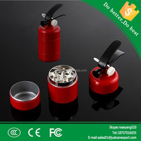 wholesale magnetic grinder 3 layers fire extinguisher herb grinders