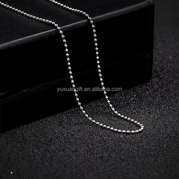 Wholesale Latest Design Stainless Steel Latest Design Beads Necklace