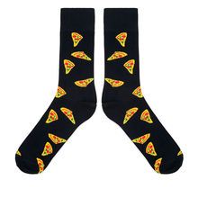Pizza design kawaii socks cartoon