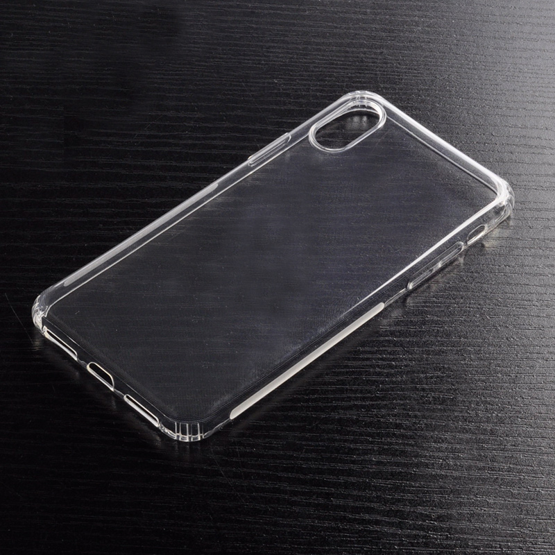 DFIFAN White bar mark anti skidding Mobile Case for iphone x accesorie , clear protective cover case for apple iphone X