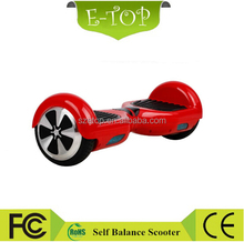 Classic Red color electric mobility scooters hoverbard balancing car