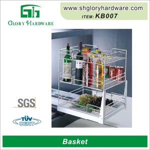 Kitchen Tool Fashionable High Quality High Quality Metal Triangular Storage Basket