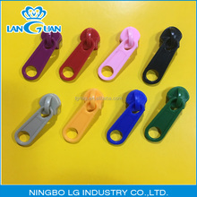 3# 5# 7# non-lock normal puller plastic PVC slider for raincoat, bag