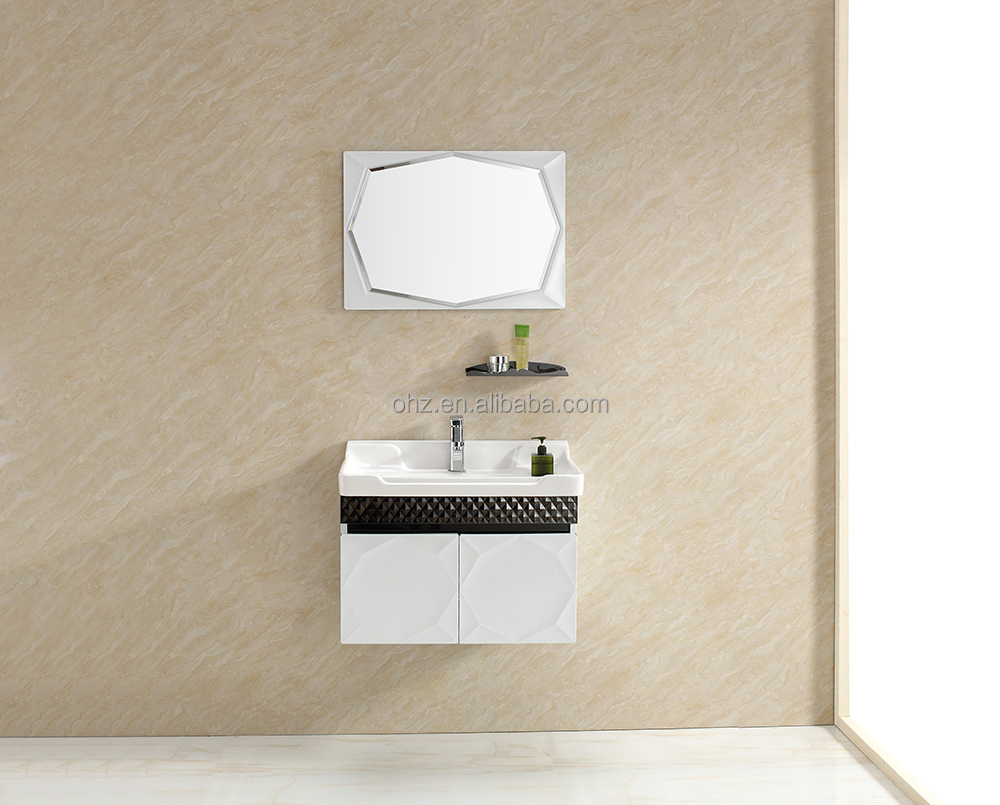 Modern special style white bathroom vanity cabinet T-100