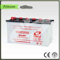 Dry Charged 12V 100AH Automotive Car Battery N100