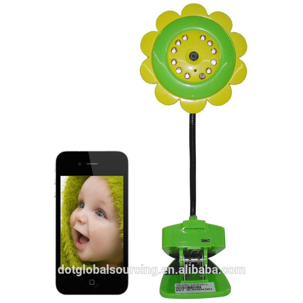 Sunflower Wifi Bluetooth Wireless Baby Monitor for Ipad Android Smart Phone