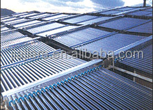 Split system of solar water heater project with heat pipe (Solar keymark , SRCC)