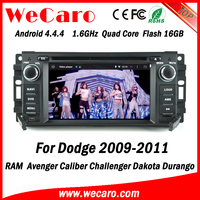 Wecaro WC-JC6235 Android 4.4.4 car dvd HD for dodge ram touch screen radio 2009 2010 2011 Wifi&3G