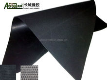 have excellent resistance to ozone high temperature 150 degree C hypalon rubber sheet with both sides smooth surface