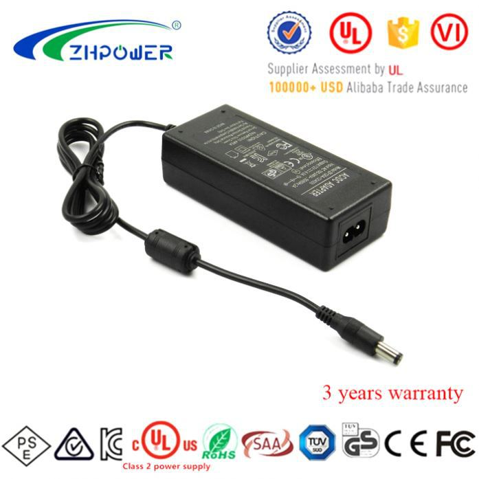 3 Year Warranty 12V dc 4.0Amp Switching Power Supply Adapter 12V4A for LED lighting LCD display
