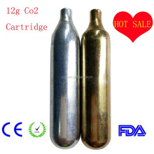 12g co2 cartridge 10 years co2 factory supply competitive price