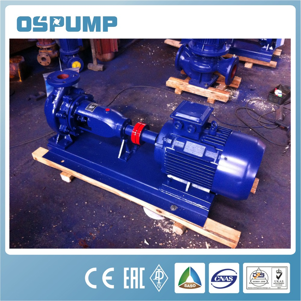 Single-suction centrifugal submersible pump