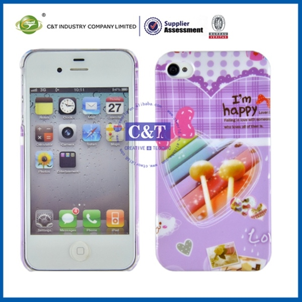 Widely used fancy cellphone cover for iphone 4se 4