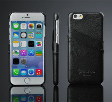 Housing protect with Card slots case new arrival leather case for iphone6 leather case