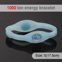 Bio Elements Energy Silicon Bangle With Ion And Hologram Jewelry