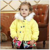 MS60884C wholesale new design girl coats children winter clothing